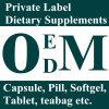 Suplementos dietéticos à etiqueta confidencial do alimento natural