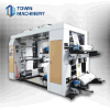 Высокоскоростная и точная печатная машина Flexo цвета печатание 4