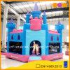 Гигантская розовая дом прыжока замока (AQ503)