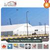 Het tijdelijke Pakhuis structureert 50 X 170m voor Opslag en Workshop met Harde Muur