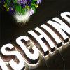 Lettre allumée par DEL acrylique de la Manche en métal de 2017 nouveaux produits