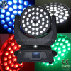 Zoom de 36x10W/Pantalla táctil de la luz de cabezal movible LED