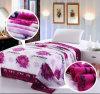 Flanela de manta de poliéster super macios cobertor de lã flanela de impressão de poliéster cobertores