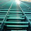 La polvere del PVC ha ricoperto la rete fissa saldata l'acciaio della rete metallica