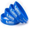 Azzurro del Wristband del silicone, Wristband di gomma