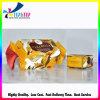 Желтый цвет напечатал коробку специальной формы конструкции конфеты упаковывая