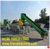 Película plástica do LDPE do animal de estimação do PVC dos PP que lava recicl a maquinaria
