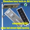 Lampe extérieure solaire de lampes de réverbère de système de d'éclairage de DEL