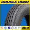 三角形のタイヤ、トレーラーのタイヤ、TBRのタイヤ