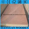 4.5m m madera contrachapada de la madera dura el presionar caliente de dos veces