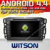 Buick 고립된 영토 (W2-A7036)를 위한 Witson Android O.S. 4.4 Version Car DVD