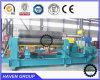 Da placa hidráulica de 3 rolos da qualidade W11-40X2500 superior máquina de rolamento de dobra