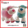 10.5  아기 2 색깔은 연약한 채워진 양 견면 벨벳 장난감을 꼭 껴안는다