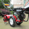 Gasolina 6.5HP Finca cultivadora de Rotary lanza con aprobación CE