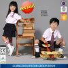 La Chine fabrication uniforme scolaire shirt de qualité supérieure