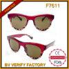 F7611 Zonnebril Van uitstekende kwaliteit van de Manier van de Ontwerper van China de In het groot Recentste