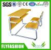 Tableau et chaise de mobilier scolaire de Chaud-Vente pour 2 personnes (SF-41D)