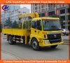 6 Wheeler 4X2 Foton camión de carga de camiones camión con grúa