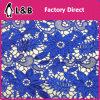 tessuto chimico del merletto dell'azzurro reale di 130cm