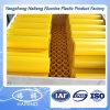 プラスチック黄色いHDPE棒