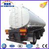 Reboque Fuel Oil do caminhão de petroleiro do aço de carbono de três eixos