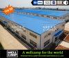 Deportes prefabricados grandes pasillo de la estructura de acero del edificio de marco de acero del espacio de Wellcamp