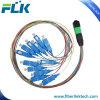 12 ядер/волокна MTP/упу-Sc одномодовый оптоволоконный кабель вентилятора 0.9mm соединительный кабель и кабель питания