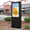 Signage LCD 55 цифров стойки пола дюйма рекламируя видео-плейер
