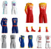 In het groot Stephen Curry Kevin Durant Basketball Jerseys Uniformen