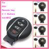 Auto Slimme Sleutel voor Mini met CAS van 3 Knopen Systeem ID46 315lpmhz