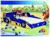 Bett des laufenden Auto-F1 (350-01)