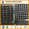 Ss400 Q235 schwarzes Kohlenstoffstahl-Quadrat-Rohr