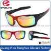 2017 Guangzhou New Fashion Cat Eye Sport Goods Full Frame Lunettes de soleil UV de protection Best Quality Cycling Driving Running Eyewear