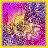 L'impression numérique personnalisé 100 % foulards de soie (F13-DP-0016)