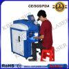 100W Machine van het Lassen van de Laser van de Juwelen van de lijst de Draagbare Blauwe