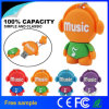 Hot vendre Cartoon Music-Man disque Flash USB