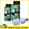 Lucky Herp 13W 26W100 Lámpara de Reptiles de UVB 5.0 bombilla fluorescente compacto UVB