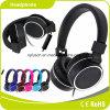 黒い普及した高品質の卸売のステレオのヘッドホーンのヘッドホーン
