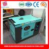 генератор энергии 5kw с тепловозным супер молчком типом SD8000es