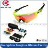 Les lunettes de soleil de mode personnalisées à la mode avec étui EVA dur Vintage Cycling Driving Riding Sun Glasses