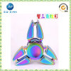 Rainbow Color Hand Spinner Liga de zinco Metal Fidget Spinner (JP-FS001)