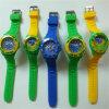 Los ABS los relojes con estilo impermeables del diseño del movimiento de Japón encajonan y de la correa