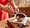 La cottura del melting pot del cioccolato dell'acciaio inossidabile 304 lavora la ciotola di fusione del formaggio del burro