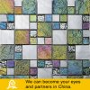 Mosaico di vetro con metallo (A07)