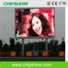 Exhibición de LED a todo color al aire libre de Chipshow P16 que hace publicidad de la exhibición de LED