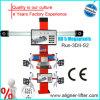 Alignement de roue rouge d'approvisionnement d'usine avec du CE