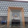 불꽃 Gold는 Door Decoration를 위한 Aluminum Panel를 관례 만들었다