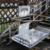 O projeto novo curvou o elevador da escada usado para pessoa Disabled/elevador Inclined do assento do elevador da cadeira de rodas
