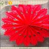 Snowflake rojo Fan para Decoration