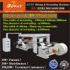 Haute vitesse automatique complète de 130 160 180cm de largeur grand rouleau papier d'étiquette trancheuse rembobineur Machine